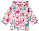 Hatley Pink Roaming Horses Mini Raincoat