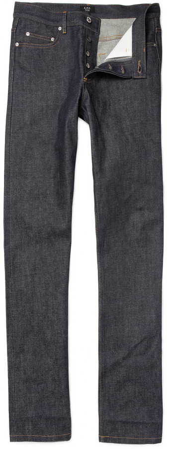 A.P.C. Rescue Straight Selvedge Jeans