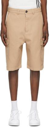 Ami Alexandre Mattiussi Beige Bermuda Cargo Shorts