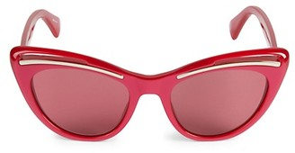 Moschino 51MM Cat Eye Sunglasses