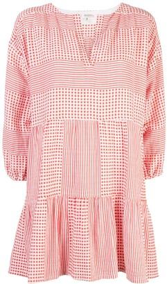 Lemlem Semira geometric print dress