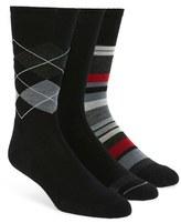 Smartwool Men's 3-Pack Merino Wool Blend Crew Socks