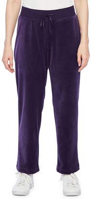 ST. JOHN'S BAY SJB ACTIVE Active Womens Slim Pull-On Pants