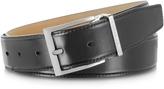 Moreschi York Black Calf Leather Belt