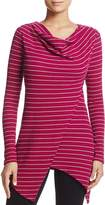 Andrew Marc Performance Stripe Thermal Asymmetric Top