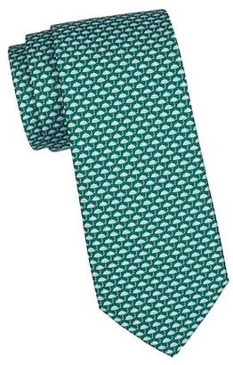 Salvatore Ferragamo Umbrellas Silk Tie