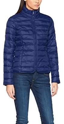 Only Women's Onltahoe Collar Spring Jacket Cc OTW Jacket, Blue (Blue Depths Depths), 40 (Manufacturer Size: Large)