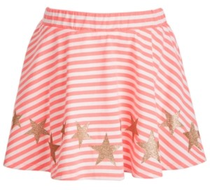 Epic Threads Little Girls Striped Star Scooter Skirt, Created for Macy's