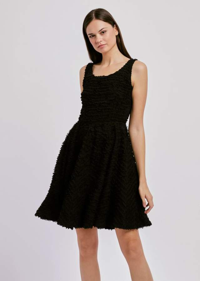 364a45fb31a Emporio Armani Flared Dresses - ShopStyle