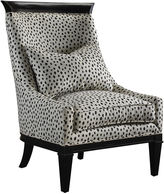 French Heritage Bruno Chair w/Kate Spade Fabric, Black