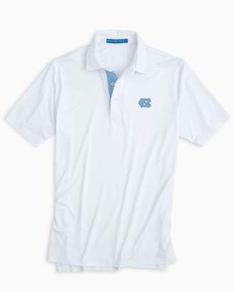 Southern Tide UNC Tarheels Plaid Placket Polo Shirt