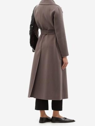 S Max Mara Paolore Coat - Dark Grey