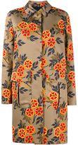 MSGM Floral Printed Coat