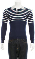 Brunello Cucinelli Wool & Cashmere-Blend Polo Knit