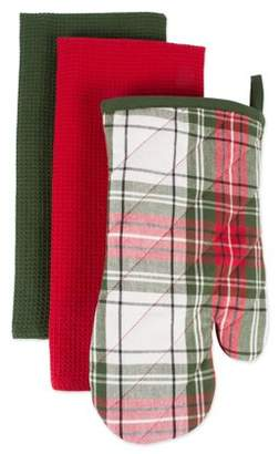 Dii DII Cabin Christmas Gift Set (Oven Mitt and Dishtowel)