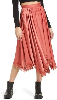 Amy Lynn Dorset Lace Hem Skirt