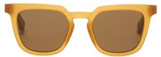 Mykita X Maison Margiela Raw Acetate Sunglasses - Mens - Tan