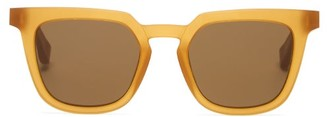 Mykita X Maison Margiela Raw Acetate Sunglasses - Tan