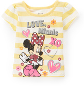 Children's Apparel Network Minnie Mouse 'Love Minnie' Cap-Sleeve Tee - Toddler