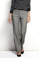 Lands' End Women's Pre-hemmed Wear to Work Trouser Pants-Oro