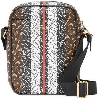 Burberry Monogram Stripe Crossbody Bag