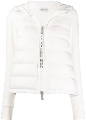 Moncler Fabric Sleeved Padded Jacket