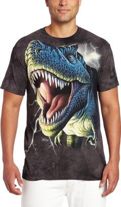 The Mountain Lightning Rex Adult T-Shirt
