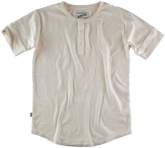 &Sons Trading Co The New Elder Henley Short Sleeve Shirt Raw