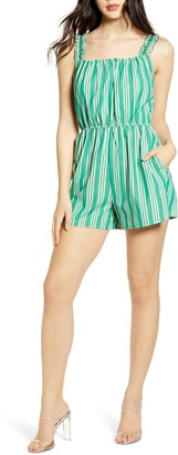 Speechless Stripe Sleeveless Romper