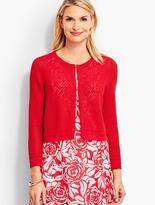 Talbots Cross-Stitched Dress Shrug