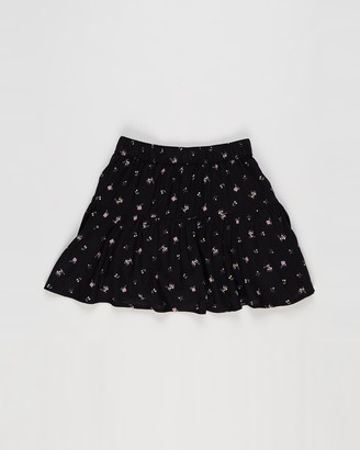 Abercrombie & Fitch Girl's Black Skorts - Circle Skort - Teens - Size 9-10YRS at The Iconic