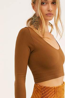 Free People Gone Up Crop by Intimately at