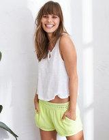 aerie Crochet Waistband Short