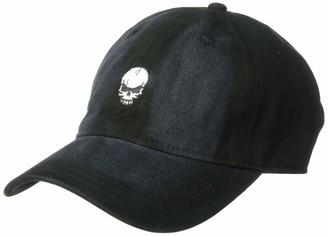 Concept One Men's Skull Embroidered Denim Baseball Cap