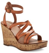 Mossimo Women's Reese Quarter Straps Cork Wedge Sandals