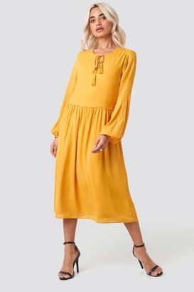 Trendyol Tasseled Midi Dress