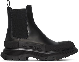 Alexander McQueen chunky-sole Chelsea boots