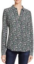 Rebecca Taylor Lavish Floral Print Shirt