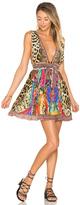 Camilla Short Dress with Tie