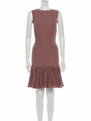 Alaia Vintage Mini Dress Pink