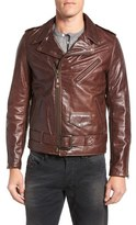 Schott NYC 'Perfecto' Slim Fit Waxy Leather Moto Jacket