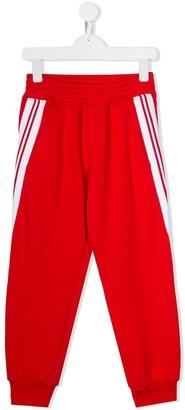 Neil Barrett Kids Side Stripe Track Trousers