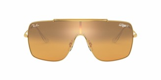 Ray-Ban RB3697 Wings II Square Shield Sunglasses