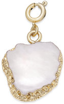 INC International Concepts Gold-Tone White Stone Charm, Only at Macy's