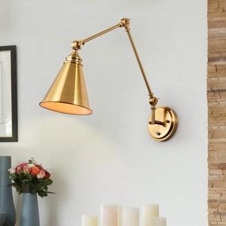 Breakwater Bay Beliveau Adjustable 1-light Lamp Sconce