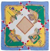 Pariscarves Rodier Equestrian Silk Square