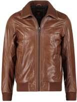 Redskins Foxter Cruiser Leather Jacket Cognac