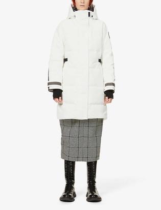 Canada Goose Bennett hooded woven-down jacket