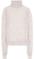 Acne Studios Taci Sheer alpaca-blend turtleneck sweater
