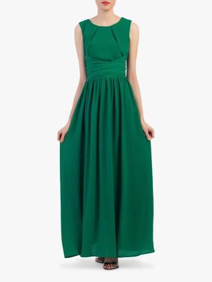 Jolie Moi Wrap Belted Maxi Dress